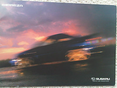 Subaru Impreza Brochure including WRX