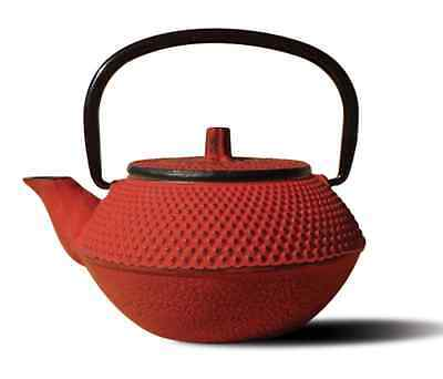 NEW Old Dutch 11 Oz. Ounce Cast Iron Teapot Red Unity Japanese Style Tokyo