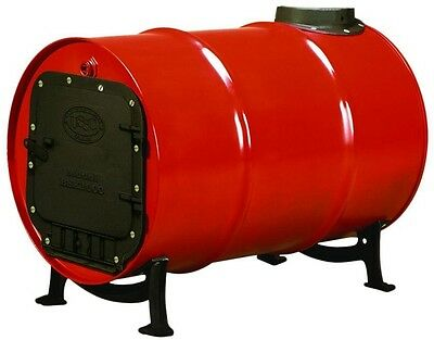Barrel Stove Kit US Stove Cast Iron Wood Burning Drum Garage Shop Cabin NEW