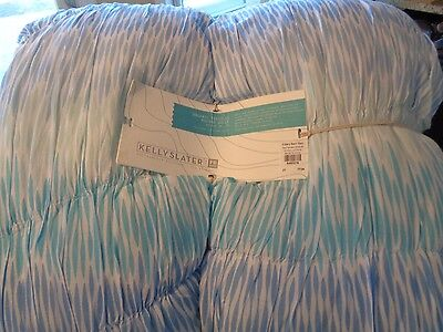Pottery Barn Teen Kelly Slater Trestles Ruched Quilt full queen new