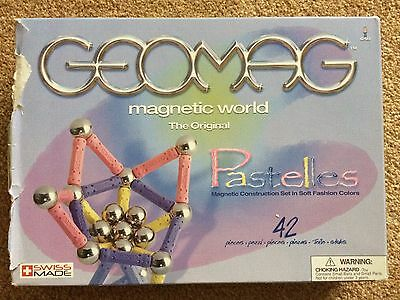 Geomag Magnetic World Pastelles 42