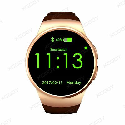 KINGWEAR KW18 Bluetooth Smart Watch Orologio Cellulare GSM SIM Per Android iOS