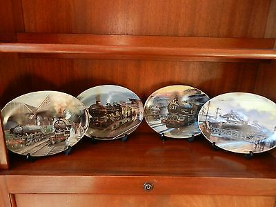 Steam Railway collectable Limited edition plates