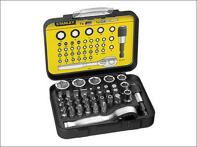 Stanley STHT9-13906 1/4-Inch Square Drive Socket and Screw Driver Set 9-13-906