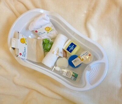 baby bath gift set infant newborn kids safe toddler new tiny support small
