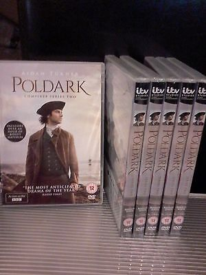 Poldark - Series/Season 2 New and Sealed UK DVD Boxset