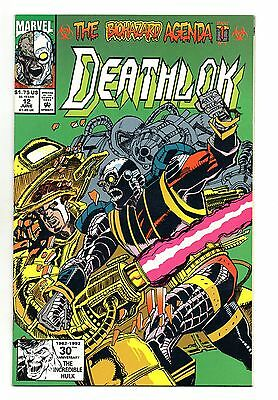 Deathlok Vol 1 No 12 Jun 1992 (NM-) Marvel Comics, Modern Age (1980 - Now)
