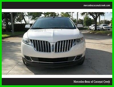2011 Lincoln MKX Base Sport Utility 4-Door 2011 Used 3.7L V6 24V Automatic Front Wheel Drive SUV Premium