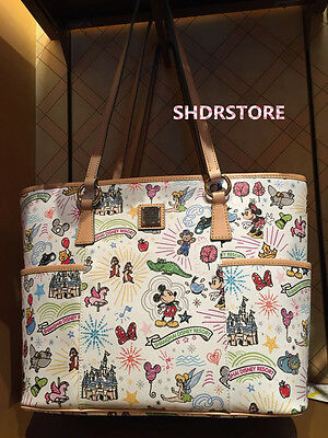 SHDR Dooney & Bourke Shoulder BAG SHANGHAI DISNEYLAND DISNEY SHDRSTORE RESORT