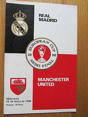 AC MILAN v MANCHESTER UNITED EUROPEAN CUP SEMI FINAL 23rd April 1969