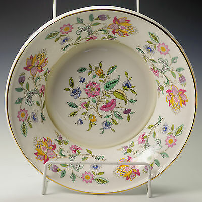 Minton Haddon Hall Serving Bowl Dish Trifle Fruit Salad Made in England Firsts