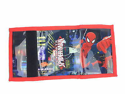 Official Marvel The Ultimate Spiderman Boys Trifold Money Change Notes Wallet