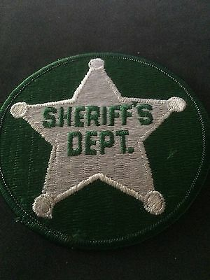 Old Original Generic  County Sheriff  Police Patch