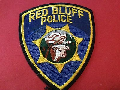 Red Bluff Police Patch