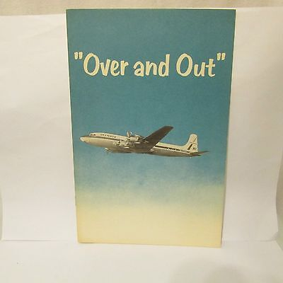 1959 Wisconsin Bell Telephone Advertising Aviation Airlines Booklet DC1 Radar