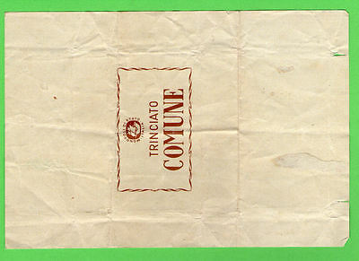 very Old EMPTY cigarette pack ITALY packet #192