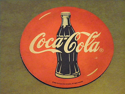 Vintage 1995 Coca-Cola Computer Mouse Pad Used Collectible