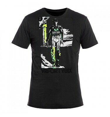 Camiseta T-shirt Chico Valentino Rossi VR46 Life Style Vale VRMTS219220NF