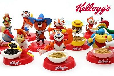 Kellogg's Character Figure Collection 10sets unopened       last one
