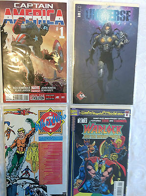 Universe #0 Captain America #1 Warlock Part 12 Who's Who in DC Universe Lot