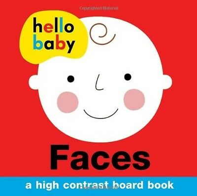 Faces (Hello Baby) Roger Priddy New Book