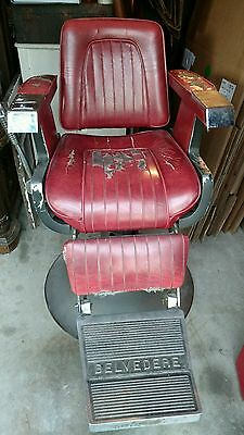 Vintage BELVEDERE Barber Chair PICK UP ONLY