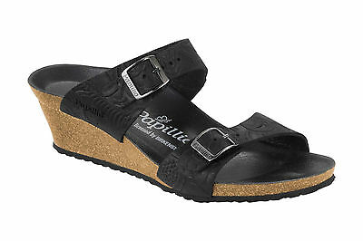 6e242f3b36f2 CLEARANCE Papillio by Birkenstock - Leather DOROTHY  199rrp Relief Black  BNIB
