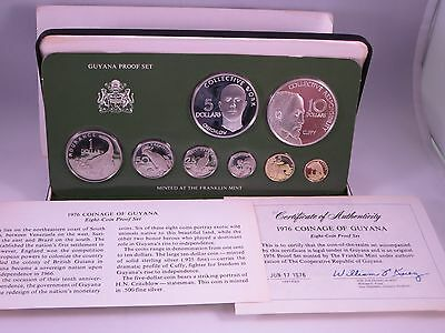 National Coinage of Guyana 1976 Proof Set
