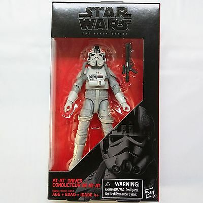AT-AT DRIVER Star Wars The Black Series #31 6-inch Figure - FREE SHIPPING