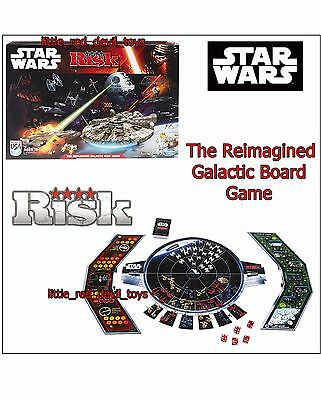 NEW Star Wars Classic RISK BOARD GAME The Reimagined Galactic 2-4 Players 10Yr+