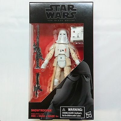 SNOWTROOPER Star Wars Episode V The Black Series #35 6-inch Figure FREE SHIPPING