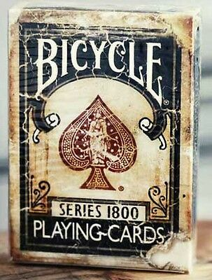 Bicycle Ellusionist Vintage Series 1800 BLUE Deck US Playing Cards Poker Magic