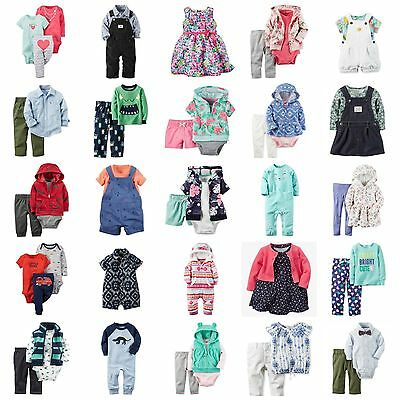 NWT $350 Carter's Infant Wholesale Outfit Lot You Choose Size, Gender, Season