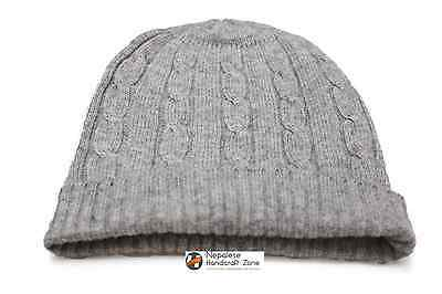 100% Himalayan Cashmere Winter Slouchy Beanie, Tuque, Cap, Hat NEW