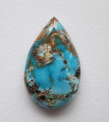 10.50 ct 100% Natural Blue Moon Turquoise Cabochon Gemstone, # CE 051