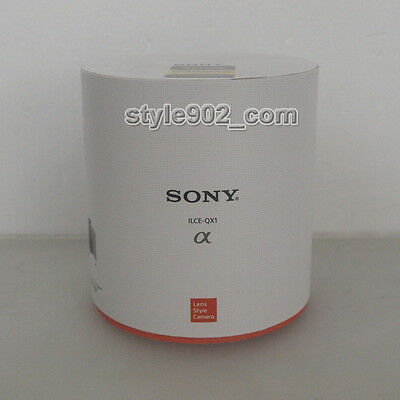 Original SONY Alpha ILCE-QX1 Lens-Style Camera with 20.1 MP Sensor Body Only