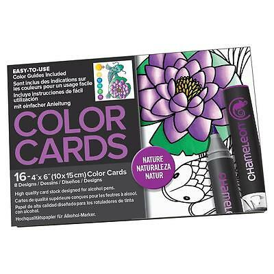 Chameleon Color Tones Colour Cards NATURE - Adult colouring for alcohol markers