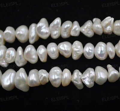 wholesale 5 strands Natural Reborn Freshwater pearls FREE SHIPPING