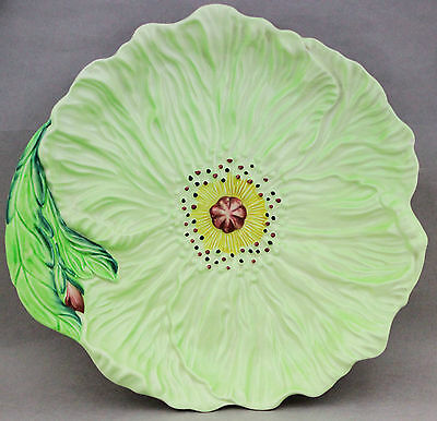 Vintage Carlton Ware Carltonware Green Buttercup Dish Plate 2257/9 English China