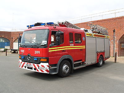 Isle of Wight Fire Service HW51ELC Mercedes-Benz Atego Fire Engine Photo