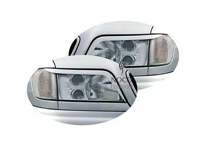 Headlight covers Evil Eye Eyebrows Eyelids Light Brows Lids for Audi A6 C4
