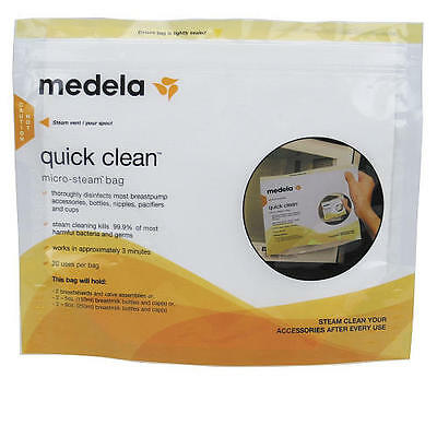 Medela Quick Clean Micro-Steam Bags - 5 Count