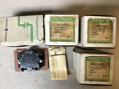 GE Auxiliary Contact Kit CR305X200A-New