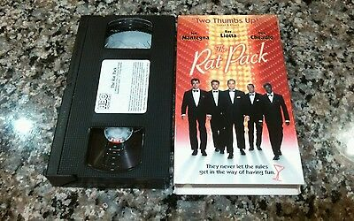 The Rat Pack VHS! 1998 HBO TV Drama! Stealing Sinatra Moby Dick Crash