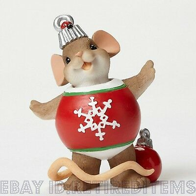 The Most Beautiful Decoration Is Your Smile CHARMING TAILS ornament Christmas