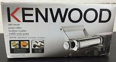 Kenwood AT970A Metal Pasta Roller Silver Chef Roller Chef Major Attachment NEW