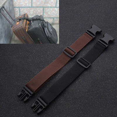 New Nylon Bag Buckle Strap for Luggage Suitcase Belt Travel Attachment Accessory