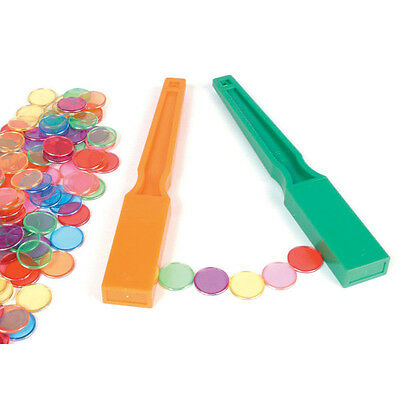 Magnetic Wand (2) & 100 Counting Chips Maths Teacher Resource Science Learning
