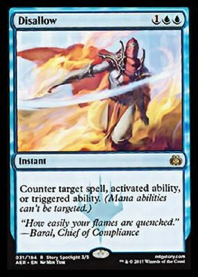 Preorder Disallow NM Aether Revolt MTG Magic The Gathering Blue English Card