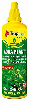 Aquarium TROPICAL FISH TANK AQUA PLANT FERTILISER COMPLETE MINERAL FOR PLANTS